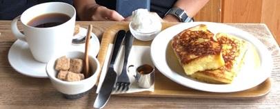 珈琲さんぽのフレンチトースト