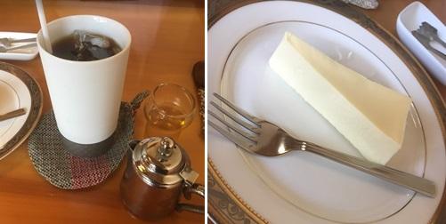 大川珈琲屋・珈琲とケーキ