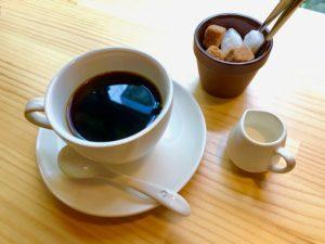 narairoカフェのコーヒー