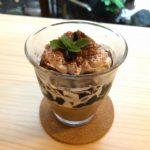 narairoカフェのコーヒーゼリー